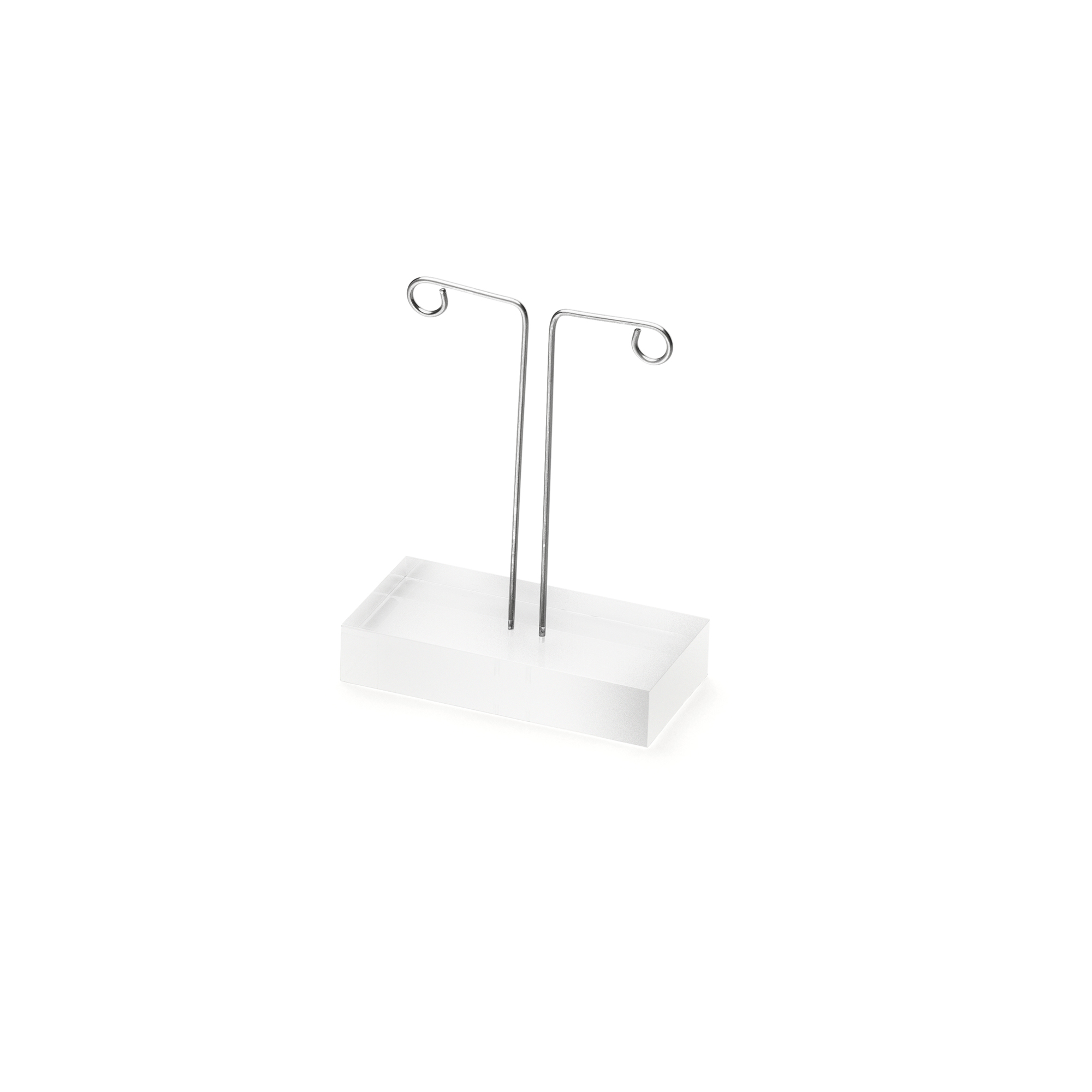 ACRYLIC DISPLAY Ear jewellery  stand small mat
