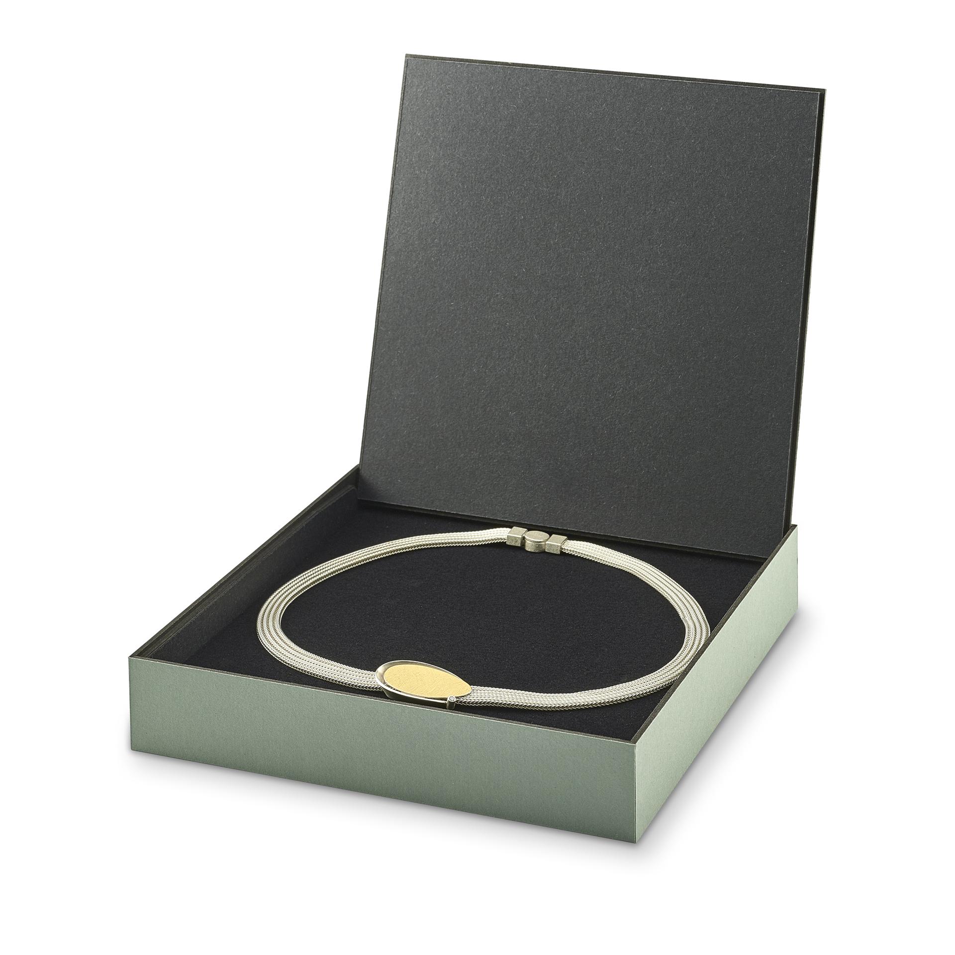 FLIPBOX necklace dusty green