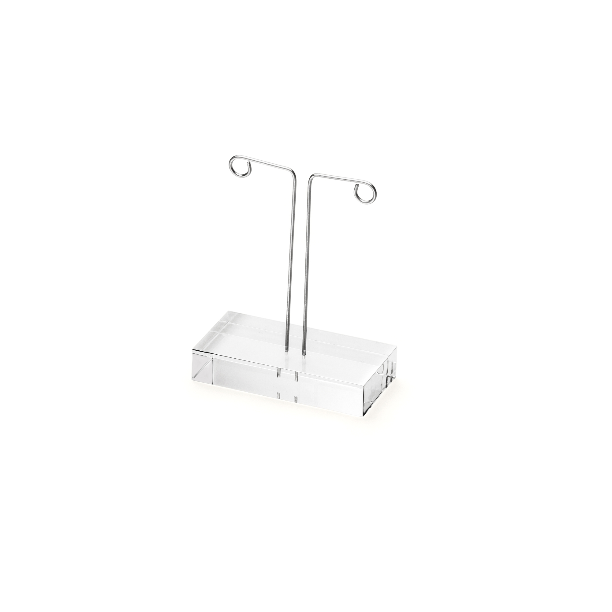 ACRYLIC DISPLAY Ear jewellery stand transparent