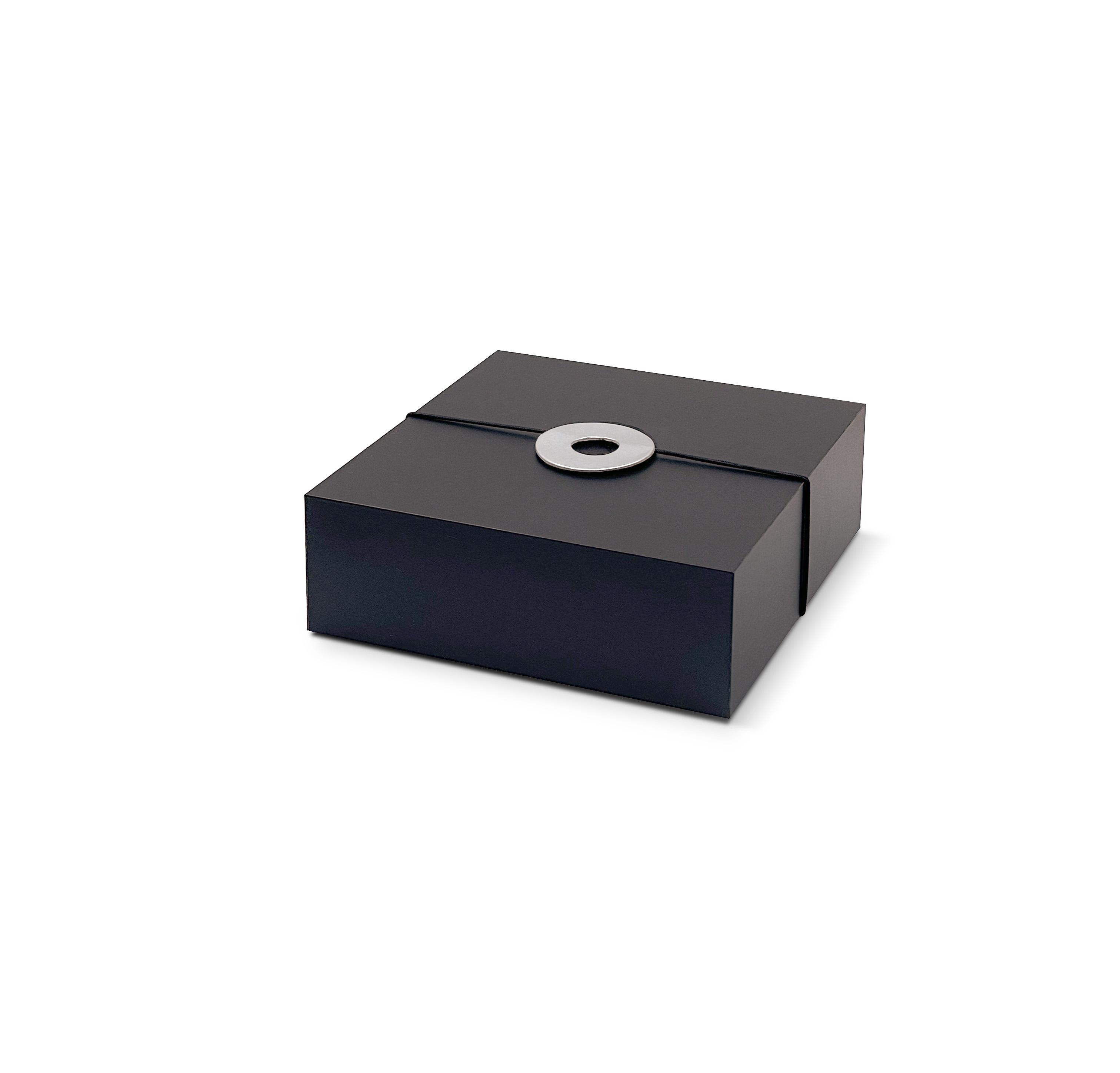 FASTENER Paper ring short/silver