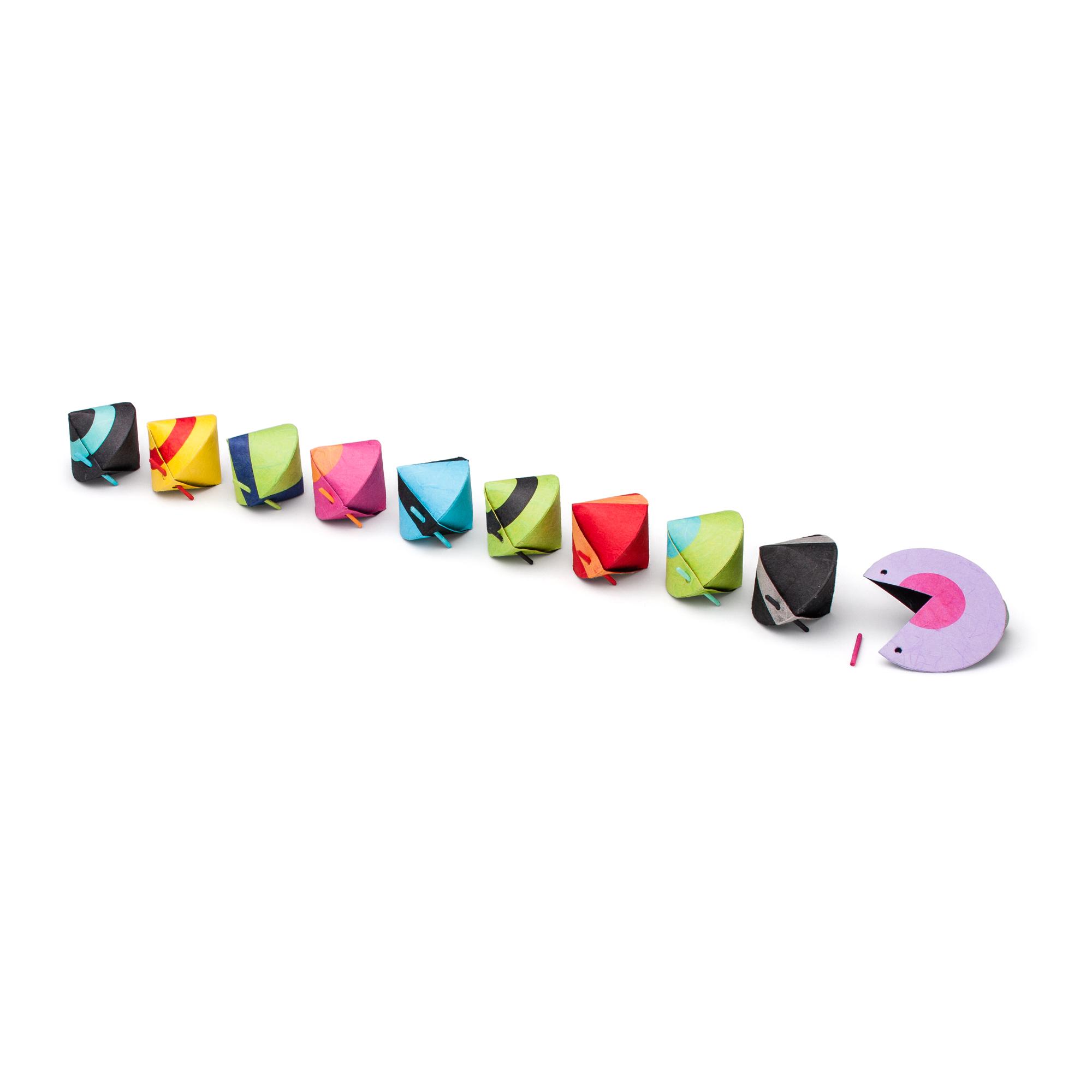 PACBOX klein mehrfarbig