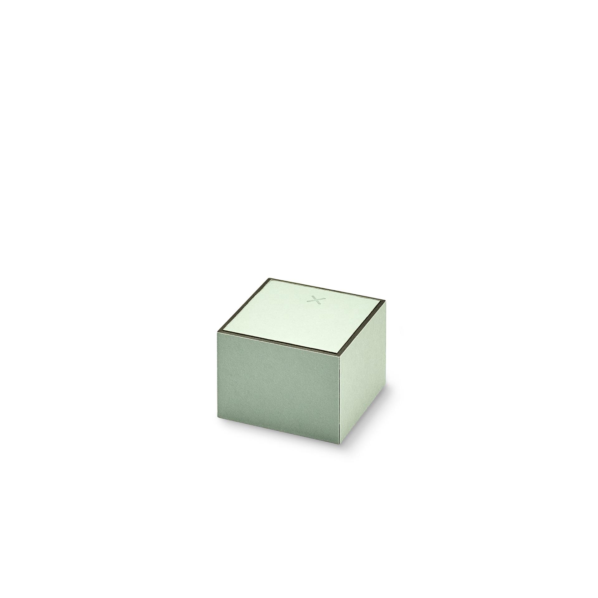 FLIPBOX Ring graugrün