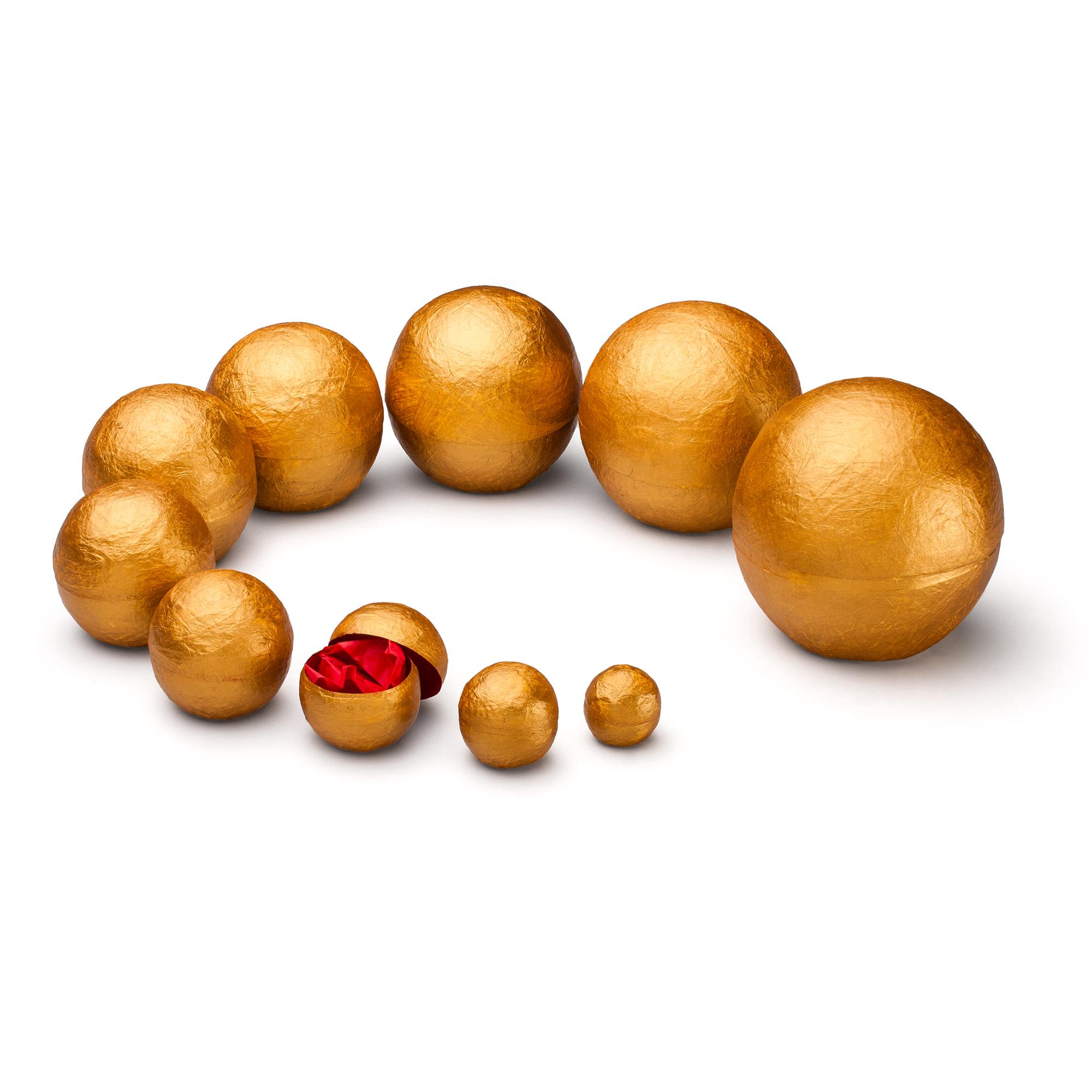 YAYA Stapelbox gold/rot